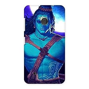 Delighted Warior Shiva Blue Back Case Cover for Lumia 530