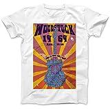 Photo de Woodstock Festival 1969 Hippie T-Shirt 100% Coton par