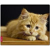 Speedlink BABY CAT SILK Mousepad - con superficie tessile morbida come seta (Forma ergonomica, Adatto per tutti i mouse con sensore ottico o laser)