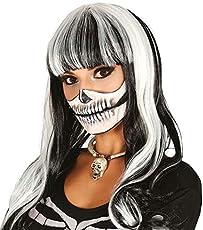 Enter-Deal-Berlin PERÜCKE - Skeleton - schwarz weiß