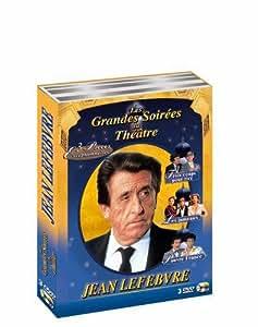 Coffret Jean Lefebvre : Les jumeaux / Pauvre France / Trois coups pour rire - Coffret 3 DVD