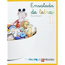 Lecturas: Ensalada de letras. 1 Primaria. Trampolín - 9788467511987