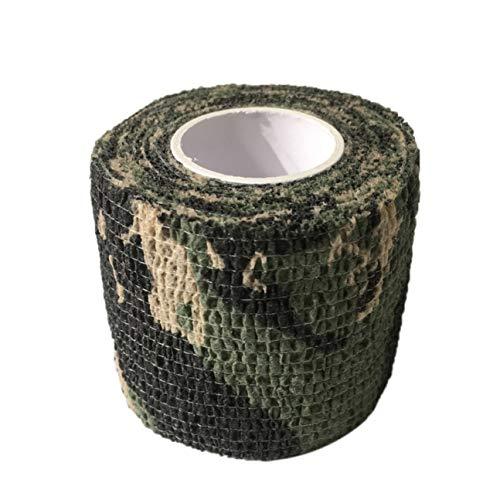 Bandage élastique auto-adhésif d'enveloppe de couverture de poignée de tatouage jetable pour le camouflage 3 d'accessoires de tatouage de poignée de machine de tatouage