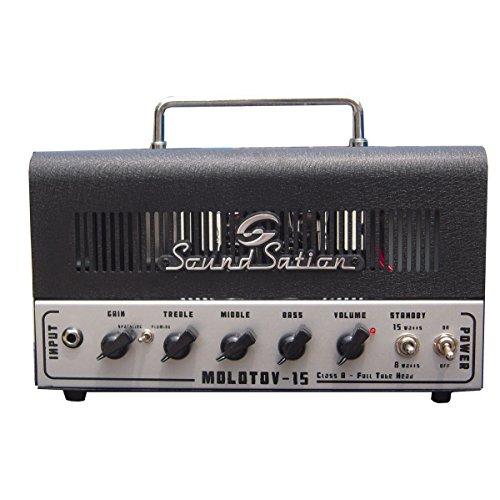Soundsation Bass-Topteil für E-Gitarre, 15 W
