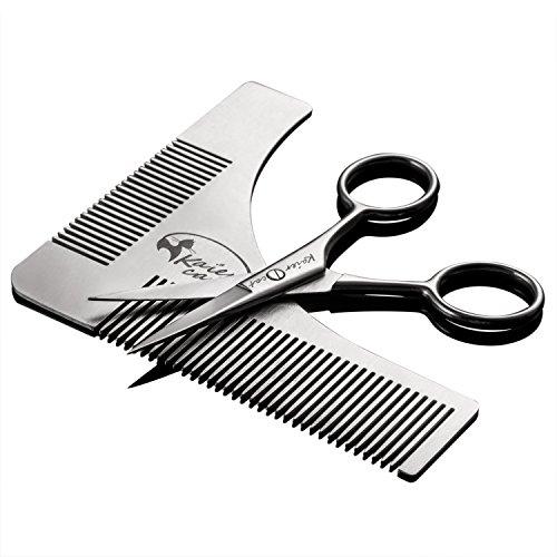 Kaiercat® Conjunto herramienta dar forma barba tijeras