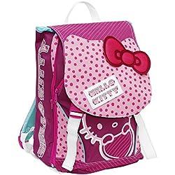 Giochi Preziosi - Mochila Escolar ampliable de Hello Kitty