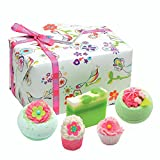 Bomb Cosmetics Three Little Birds Handmade Wrapped Bath & Body Gift Pack [Contains 5-Pieces], 500g