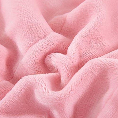 BDUK Doppelzimmer Coral Decke Bebe fusselfreien zusammengesetzte Decke Bettwäsche Flanell Winter Decken Decken mit