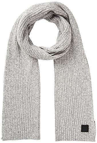 BOSS Herren Ariffeno Schal, Grau (Light/Pastel Grey 051), One Size (Herstellergröße: ONESI)