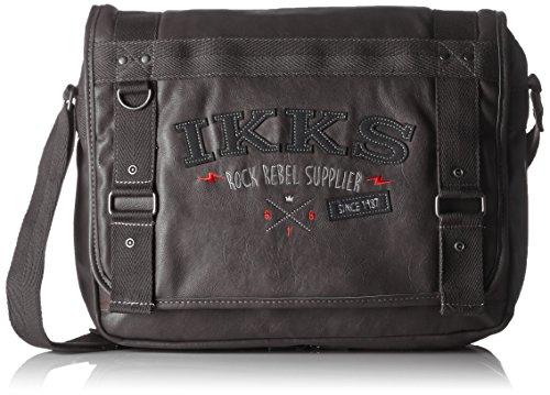 IKKS Borsa a spalla, Rosso/nero (Rosso) - I4RRE-BES-RN