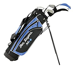 Ben Sayers Right-Handed M1i Junior Package Set with Stand Bag - Blue - 5-8 years