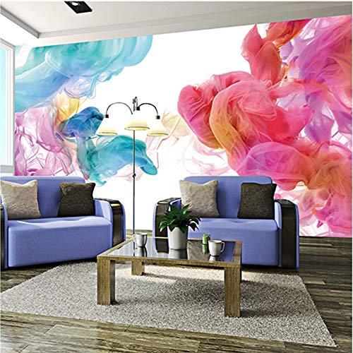 Custom 3D Photo Wallpaper Modern Abstract Graffiti Art, pintura de pared grande, sala de estar, 3D Wall Mural Wallpaper, decoración para el hogar, 350 cm x 245 cm (137.8 por 96.5 pulg.)