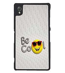 PRINTSWAG SMILE COOL Designer Back Cover Case for SONY XPERIA Z3