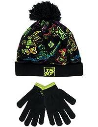 Teenage Mutant Ninja Turtles Boy s Ninja Turtles Hat and Gloves Set Size 3  - 6 Years bf0442b085d9