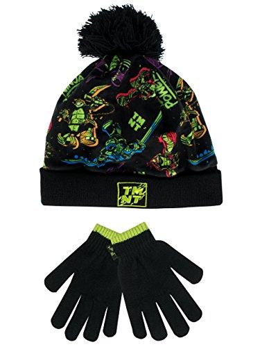 Teenage Mutant Ninja Turtles Jungen Ninja Turtles Mütze & Handschuh 6 Bis 8 Jahre