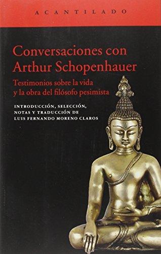 Conversaciones (El Acantilado) por Arthur Schopenhauer