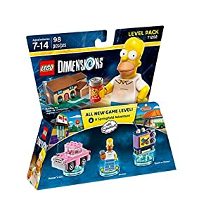 Lego Dimensions Level Pack - The Simpsons: Homer LEGO DIMENSIONS LEGO