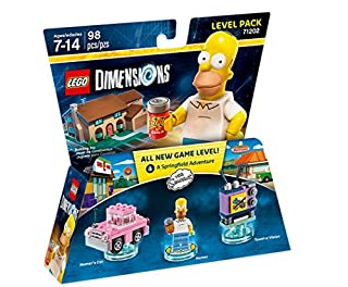 Figurine 'Lego Dimensions' - Homer Simpson - Les Simpson : Pack Aventure (B00ZWVGYD4) | Amazon price tracker / tracking, Amazon price history charts, Amazon price watches, Amazon price drop alerts