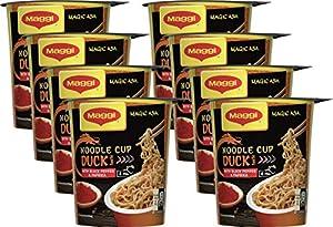 MAGGI Magic Asia Noodle Cup: Duck, Instant-Nudeln mit Enten-Geschmack,...