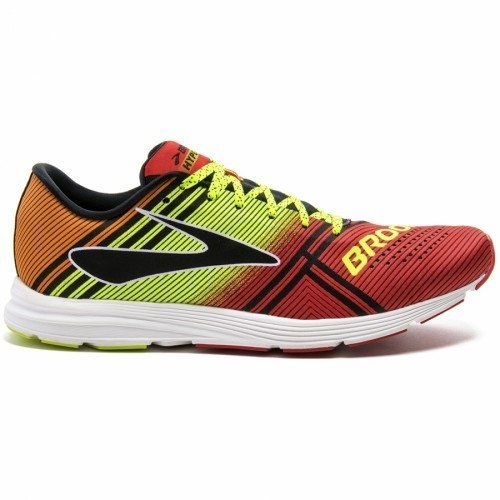 Brooks Hyperion, Chaussures de Course Homme Multicolore (Highriskred/nightlife/orangepeel)