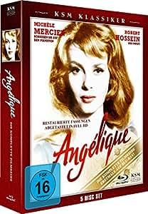 Angelique - Die komplette Filmreihe (5 Blu-rays im Digi-Pack) [Blu-ray]