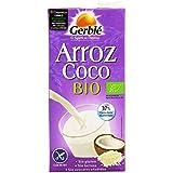 Gerblé - Arroz Coco Bio - Bebida De Arroz Con Coco Ecológica - 1 l - [pack de 3]