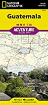 Guatemala: National Geographic: Adventure Map (National Geographic: Adventure Map (3110))