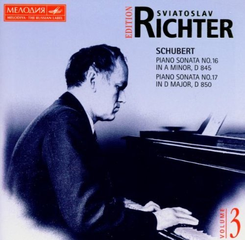 Sviatoslav Richter Edition, Vol. 3: Schubert: Piano Sonatas No. 16, D.845 & No. 17, D. 850 (Schubert Piano Sonata D 845)