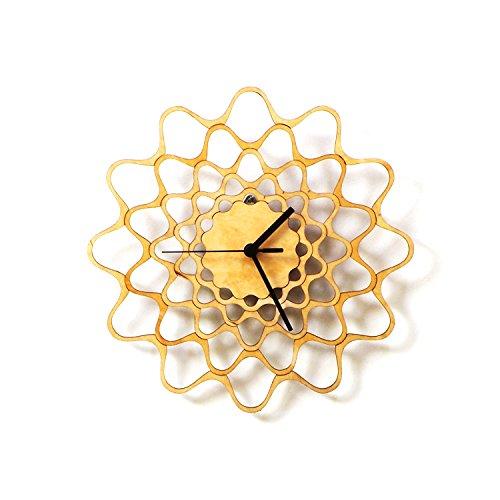 embroidery-horloge-murale-moderne-et-contemporaine-en-bois
