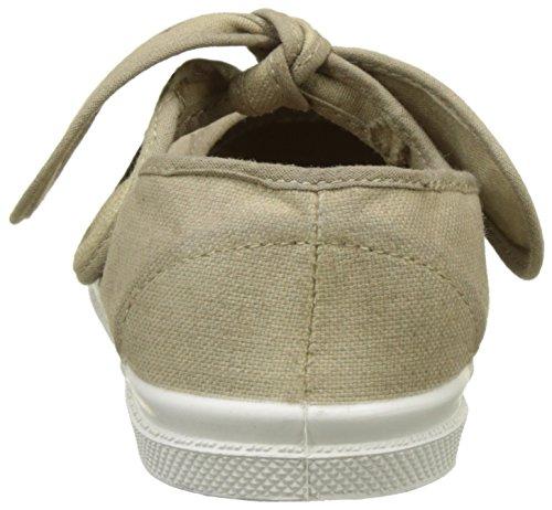 Bensimon Tennis Flo Pat, Baskets Basses Fille Beige (Beige Coquille)