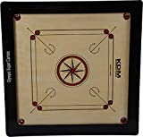KDM Wooden Carrom Board- 3 x 1.5 inches,...
