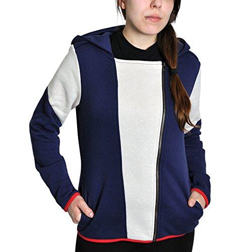 Assassin's Creed Unity Felpa jogging donna blu/bianco/rosso XL