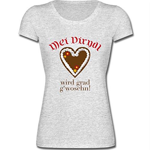 oktoberfest-damen-dirndl-wird-gwoschn-shirt-statt-dirndl-xxl-grau-meliert-f288n-kurzarm-t-shirt-fur-