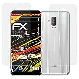atFolix Schutzfolie kompatibel mit Homtom S8 Bildschirmschutzfolie, HD-Entspiegelung FX Folie (3er Set)