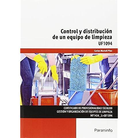 Control y distribución de un equipo de limpieza (Cp - Certificado Profesionalidad)