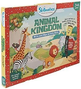 Skillmatics SKILL09AKB Animal Kingdom Game