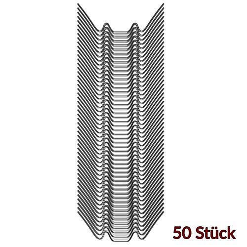 Deuba Gewächshaus Klammern 50 Stück | Vorteils-Set | - 2