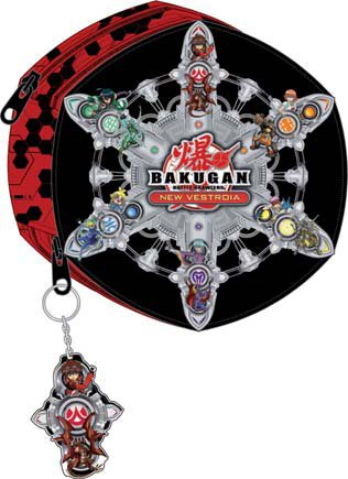 Bakugan Bakugan Manga Bakugan Pencil Case Pencil Case Pencil Case Filled Stainless
