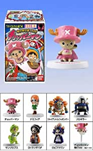 "ONE PIECE Candy Toys  ( trading figures ) "" Chopperman "" tirée de la licence One Piece. > 8 modèles présentés : Chopperman, Namifia, Giant-Luffy-Bomber, Zoro-giller, Sanji-Lops, Dr.Usodapada, Robiflowan, Chopperman (fly version). > Chaque modèle est accompagné d'une carte ""Chopperman"". figurine / mini statuette / bandai - 5 cm environ chacune"