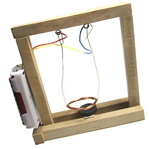 Sharplace DIY Montiert Elektromagnetische Pendelschaltung Modellbausätze Wissenschaft Experimentiert Spielzeug Kit für Kinder