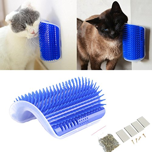 Tpocean Cat - Cepillo masaje gato juguete gatos