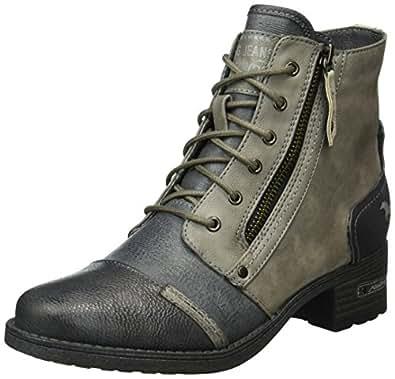 Mustang Damen 1229-502-92 Combat Boots, Mehrfarbig (92