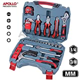 68 Piece Home & Garage Tool Kit including - Best Reviews Guide
