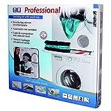 ScanPart - Marco para apilar lavadora y secadora con bandeja de trabajo
