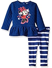 Disney Baby Girls Minnie Mouse Quilted Tops