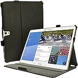 igadgitz Schwarz PU Ledertasche Hülle Cover für Samsung Galaxy Tab S 10.5