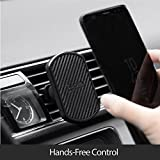 #8: Pitaka Magnetic vent car mount with a solid grip, 360° angle rotation and flexible as Mobile Phone Desk Stand Holder (Super durable claw, Sturdy and Secure)
