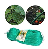 rg-vertrieb Vogelschutznetz Laubnetz Gartennetz Teichnetz Reihernetz 30x30mm Pflanzenschutznetz 5 Größen (5x10m)