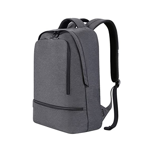 6bf49adbbc46 REYLEO Laptop Backpack for Men Women Fits 15.6 Inch Laptop, Water Resistant  Casual Daypack for Work Travel School College Business Trip Commute, 20L ...