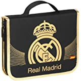 Real Madrid C.F. - Maletín dibujo, 45 piezas (Safta 4 11257 482)